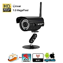 720P Security IP Camera 1.0 MP EU - Black