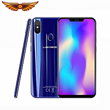 "LEAGOO S9 Mobile Phone Face ID 5.85"" HD IPS 19:9 Screen 4GB+32GB Android 8.1 MT6750 Octa Core 13MP Dual Rear Camera 3300mAh 4G Mobile Phone - Blue"