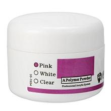 20g Acrylic Powder Crystal Nail Manicure Polymer Decor Nail Art Makeup Tools (Pink)