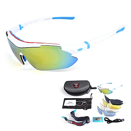 47047b0a003 OBAOLAY Polarized Cycling Sunglasses Bike Bicycle UV400 Goggles Sports  Driving Fishing Skating Traveling Eyewear Glasses