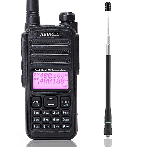 AR-52 Walkie Talkie Duplex Cross Band Repeater Dual Band 136-174/400-480MHz  Dual Receiving 2-PTT CB Radio Ham Radio GSJAW