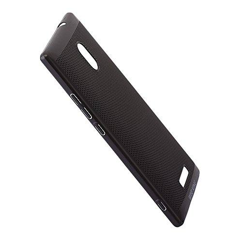brand new b5fbc 8d829 Techno Camon C9 Back Cover - Black With Permeate Finish.