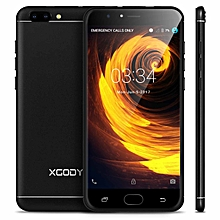 "Dual SIM Android Mobile Smart Phone 5+13MP Unlocked 4G 5.5"" 16GB Quad Core-black"