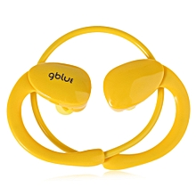 Fashion S80 Sporty Wireless Bluetooth V4.1 Super Bass Stereo Earphone(YELLOW)