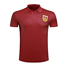 High Quality Brand Sports Soccer Polo Shirt Summer New World Cup Fashion T-Shirts-Red