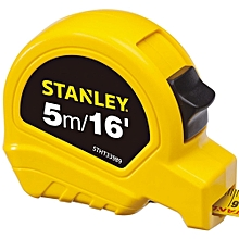 Measuring Tape - 5m/16' - Yellow and Black