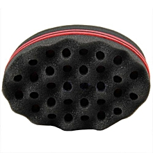 Magic Barber Sponge Hair Brush For Twists, Afros,Coils,Dreadlocks (1 Pc)