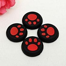 4pieces Thumb Stick Grips Caps Gamepad Joystick Cover Case For Sony PlayStation 3 4 PS3 PS4 Xbox One 360 Controller ThumbStick