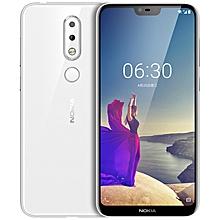 "NOKIA X6 5.8"" 6GB RAM 64GB ROM Android 8.1 Fingerprint Sensor 3060mAh - WHITE"