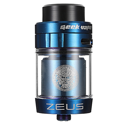 ZEUS Dual RTA Tank Atomize 25mm 4ml DIY with Adapter and Drip Tip Ohm Coil