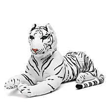 New Large White Tiger Soft Cuddly Toy 110 cm Soft Toy Plush Uk Fast Dispatch