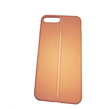Generic Iphone 7 plus -pearl backcover- Brown