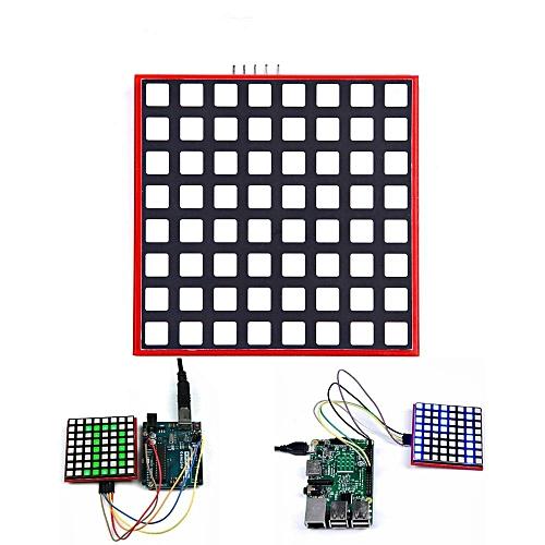 LED Full Color 8x8 RGB Dot Matrix Screen Module For Arduino Raspberry Pi 3/  2/ B+