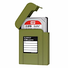 ORICO PHI-35 3.5 inch SATA HDD Case Hard Drive Disk Protect Cover Box(Army Green)  PDmall