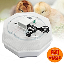 60 Eggs Incubator Automatic Hatch Digital LED Turning Temperature Control