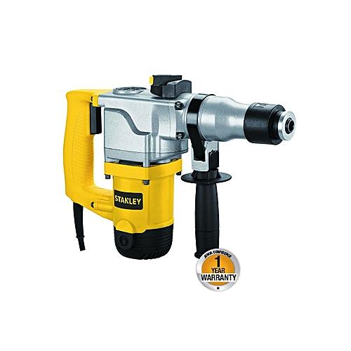 Hammer Drill L-Shaped SDS-Plus - 26mm - 850W - Black & Yellow