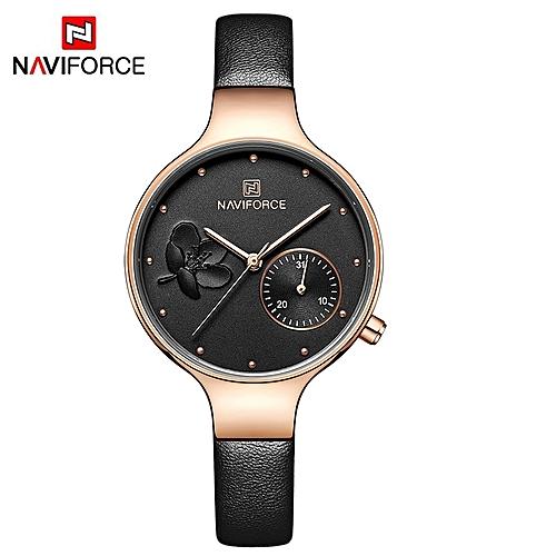 884be6e7bf7 NAVIFORCE NAVIFORCE Women Watches Top Brand Luxury Fashion Female Quartz  Wrist Watch Ladies Leather Waterproof Clock Girl Relogio Feminino WTMDJ