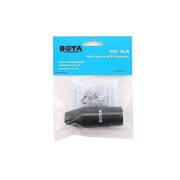 Buy Generic OR BOYA 35C-XLR 3.5mm Mini-Jack to XLR Converter TRS ...