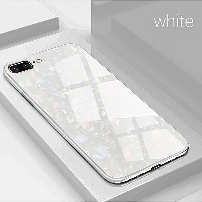 official photos 30986 2642d IPhone 7 Plus Case, for iphone 8 Plus Case, Luxury Shockproof Tempered  Glass Case Hard Back Cover Soft Frame Phone Casing 334965 Color-0