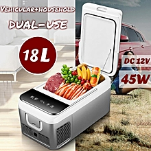 DC 12V / 220V 18L Car Refrigerator Vehicular And Household Duel-use Fast-freeze