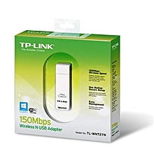 TL-WN727N Wireless USB Adapter 150Mbps - White