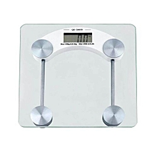 Digital Glass Bathroom Scale.