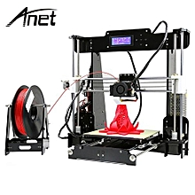 Anet A8 3D Desktop Acrylic LCD Screen Printer DIY High Accuracy Self Assembly_BLACK