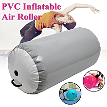 120cm Inflatable Gymnastics Mat Air Rolls Balance Training Roller Beam Cylinder # 120*80cm