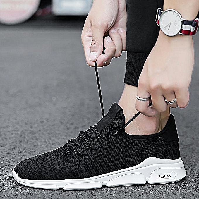 8fb11a5a0d8 Fashion Mens Casual Lightweight Mesh Athletic Sneakers Walking Running  Sports Shoes