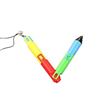 Lovely Creative Folded Ballpoint Pen Cute Collapsible Learning Stationery