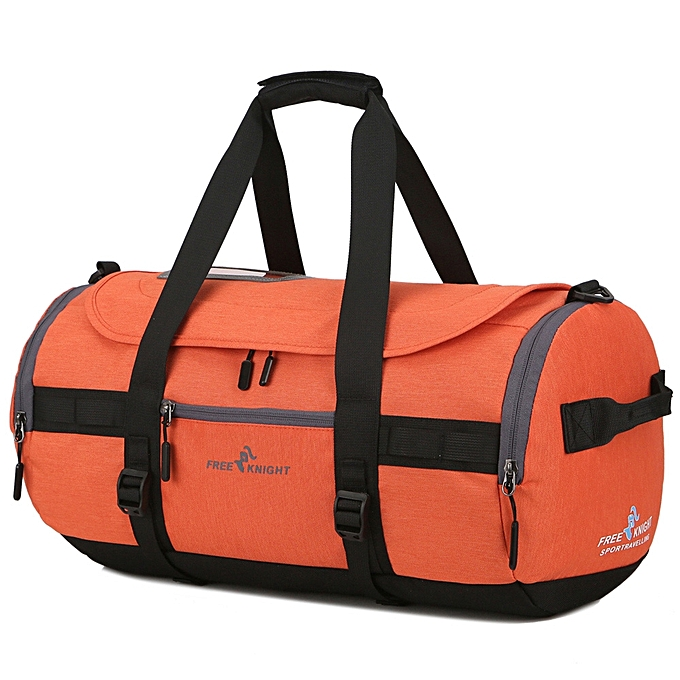Free Knight Portable Large Sports Gym Bag Holiday Travel Tote Duffel