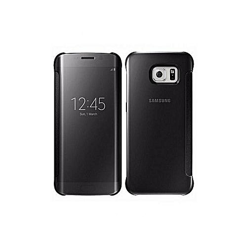 buy online 1f167 8d5b5 Samsung Galaxy S7 Edge Clear View Case, Black