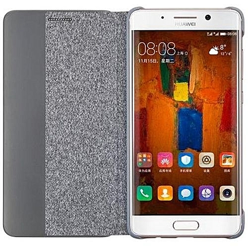 new product dfda8 9037a Huawei Mate 9 Pro Case 100% From Huawei Flip Cover Smart Answer Window View  Synthetic For Huawei Mate 9pro Mate9 Pro (Color:Light Grey)