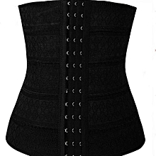 3f5dd608aa High Waist Trainer BodyShaper Sliming Belly Belt-Black