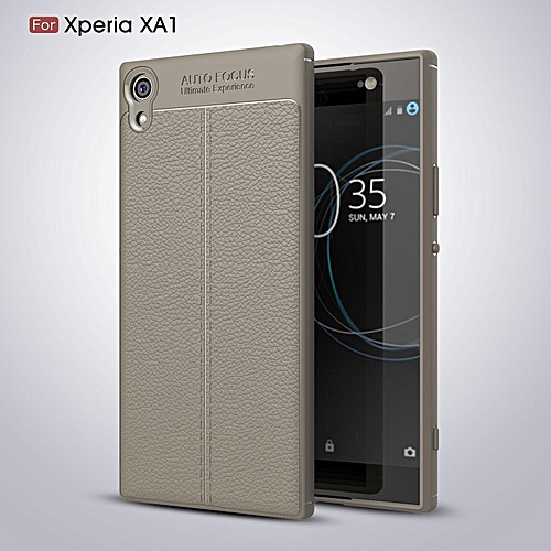 new style 1e074 f6a42 For Sony Xperia XA1 Case Cover Luxury Shockproof Silicone Rubber Phone  Cases For Sony Xperia XA1 Cover Case 725023 c-1 (Color:Main Picture)