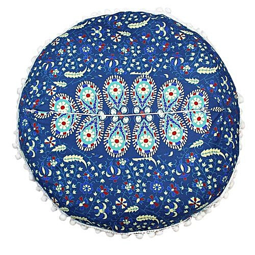 dda5cf54cd8 Generic Indian Mandala Pillows Round Bohemian Home Cushion Pillows Cover  Case Cushions -Multicolor.