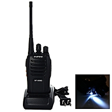 BAOFENG BF-666S UHF Walkie Talkie 16-Channel Transceiver Interphone-BLACK