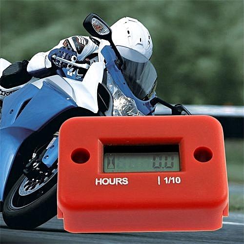 Hour Meter For Motorcycle ATV Snowmobile Marine Boat Yama Ski Dirt Quad Bike