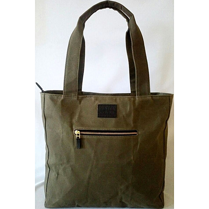 166c72f1291 MAASAI COLOUR Jungle Green Beaded Canvas Tote   Best Price   Jumia Kenya