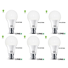 9W-  Pin Type LED Bulb 6pack - White