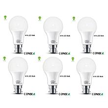 9W-  Pin Type LED Bulb 6pack - White