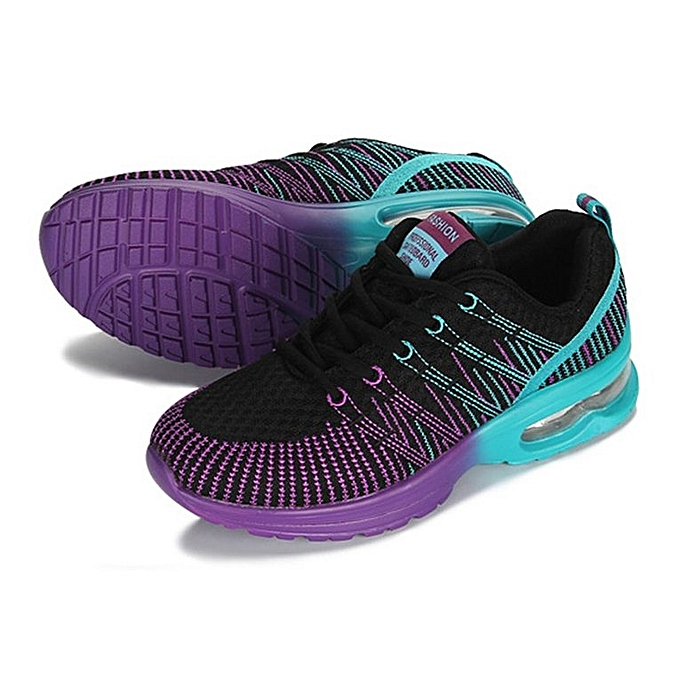 03492425a Sport Running Shoes Woman Breathable Comfortable Lace Up Outdoor Sneakers  Black ...