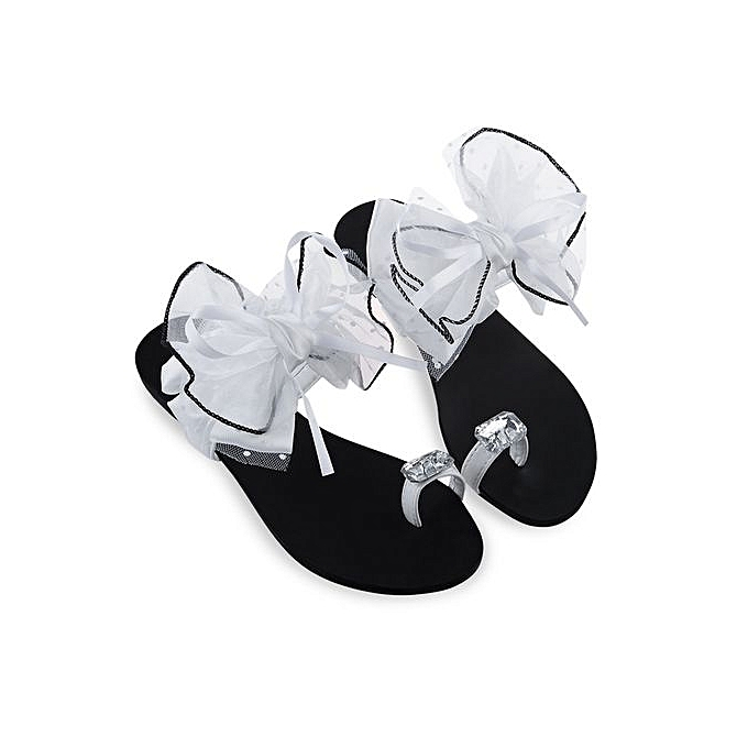 Buy fashion women rhinestone flower flip flops white best price women rhinestone flower flip flops white mightylinksfo