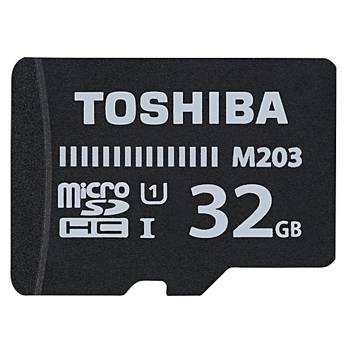 Memory Card TF With Adapter - 32GB - Black