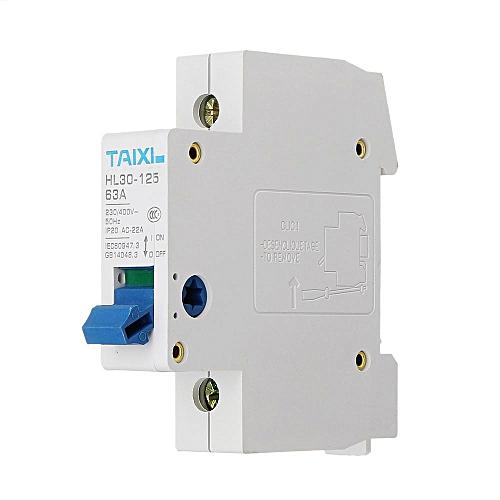 Square D QOE Type C C10 16A C20 C25 32A 63A 10kA 3P 3 Phase Triple Pole Breaker