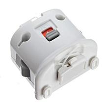 Motion Plus Sensor Adapter + Silicon Case Para Nintendo Wii Remote Controller (White)