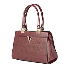 Maroon Hand Bag