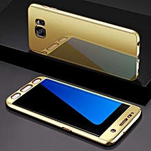 """Samsung S7 Edge 360 Full Electroplate """"3 in 1"""" Phone Cover."""