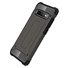 Galaxy S10+ Case,2 IN 1 Hybrid [Full Body] [Heavy Duty] Armor Case Dual Layer Shock Absorbing TPU for Samsung Galaxy S10+/Galaxy S10 Plus -Bronze