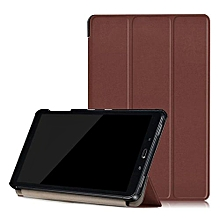 For Samsung Galaxy Tab A 10.1 (2016) SM-P580 -P585  Leather Case Cover BW